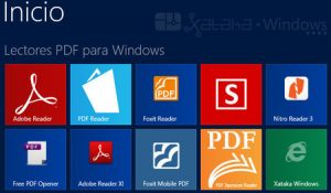 lectores fdf para windows